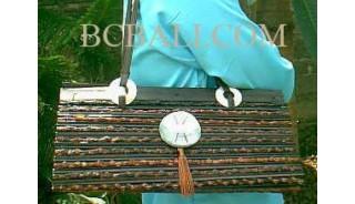 Handbags Bamboo Shell