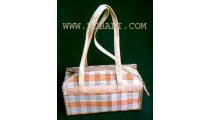 Cosmetic  Straw Bags