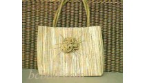 Leadies Handbags Water Hyacinth