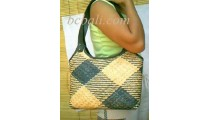 Leather Rattan Handbags