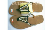 Sandals With Beads