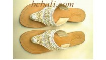 Sandals With Beads Shell