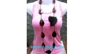Women's Wood Necklaces Fashion