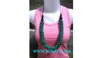 Multi Seeds Bead Wooden Necklaces