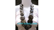 Ladies Wooden Necklaces Bali