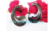 Organic Woods Earring Painted