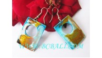 AirBrush Wooden Earrings
