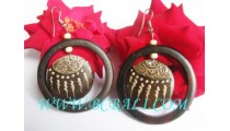 Hand Painted Woods Earring