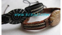 Bone Leather Bracelets