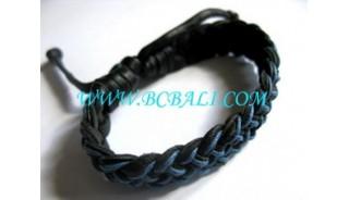 Bracelets Handmade From Leathers