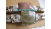 Coral Stone Bracelets