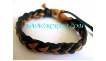 Genuine Leather Bracelets Handmade
