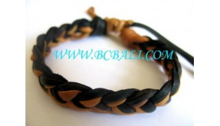 Genuine Leather Bracelets Handmade