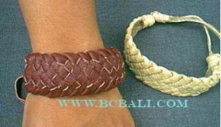 Handmade Leather Bracelet Bali