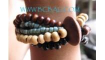 Bracelets Beading Woods