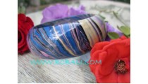 Full Color Abstract Bangles