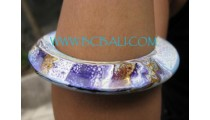 Painted Wooden Bangles