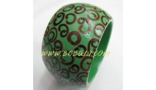 Resin Bracelets With Sinamon