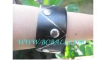 Steel Wood Bracelet