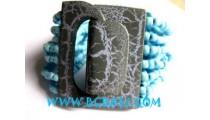 Beads Bracelet Woods Clasps