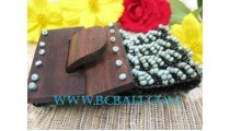 Belt Wooden Buckle Bracelet Bead