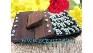 Belt Wooden Buckle Bracelet Bead