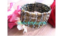 Bracelets By Stone And Bead