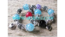 Ladies Bead Bracelet