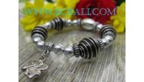 Ladies Beading Bracelets Elastic