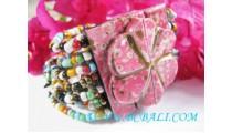 Wood Bead Bracelets Bukle