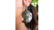 Carved Fashion Shells Earrings