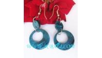 Bali Earring Shell Hooked