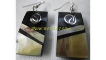 Resin Seashells Earring