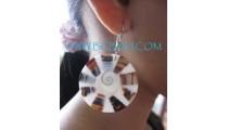 Resin Shells Earrings