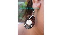 Resin Shells Nautilus Earrings Fashion