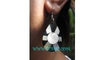Seashells Nautilus Earrings Tears