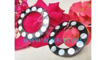 Fashion Shell Earrings Resin
