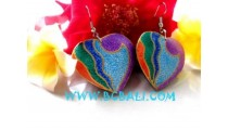 Earring Coloring Heart