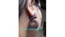 Earring Wooden Unique