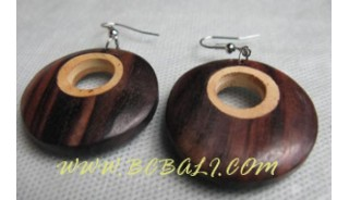 Mix Wooden Earring