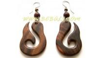 Wooden Earring Craving