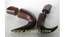 Organic Woods Piercings Gauge Earring