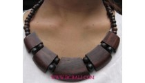 Necklace Woods Natural