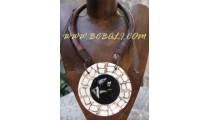 Puka Pendant Necklace
