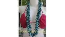 Turquoise Coloring Cowries Necklaces