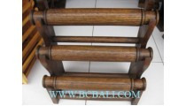 Displayed Wooden Bangles Small