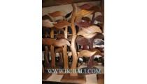 Earrings Jewelry Woods Displays