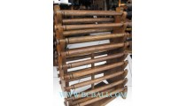 Large Display Bangles Wooden
