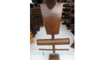 Necklaces Bangles Hanger Wooden Jewelry