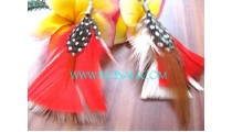 Drop Earrings By Feather